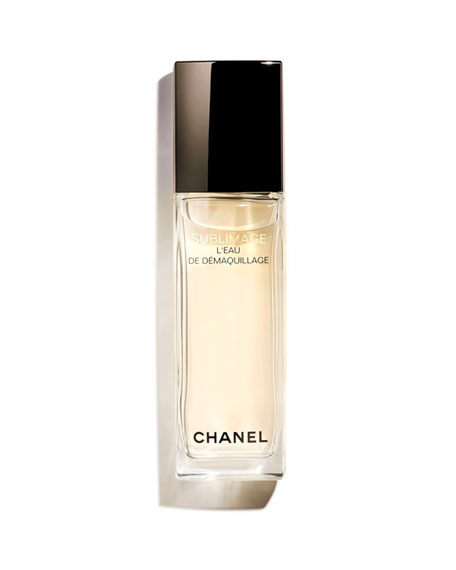 CHANEL <b>SUBLIMAGE L'EAU DE D&#201MAQUILLAGE</b> <br>Refreshing and Radiance-Revealing Cleansing Water
