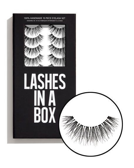 Lashes in a Box No. 30 Lashes, 10 Pairs