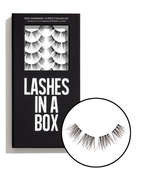 Lashes in a Box No. 25 Lashes, 10 Pairs