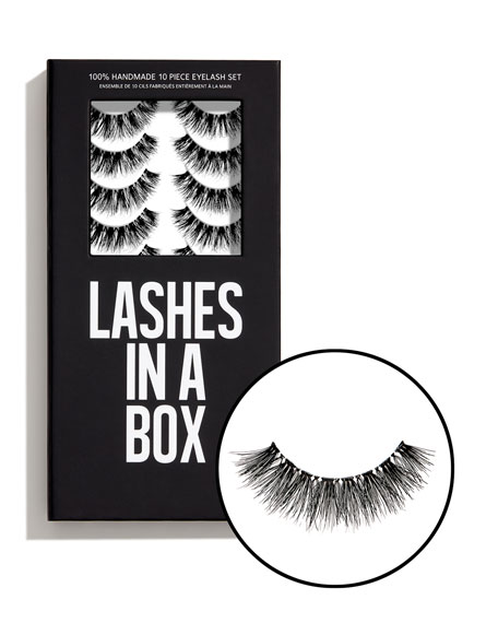 Lashes in a Box No. 27 Lashes, 10 Pairs