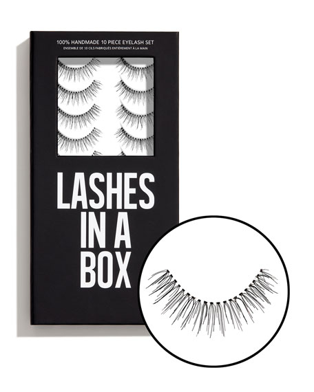 Lashes in a Box No. 21 Lashes, 10 Pairs