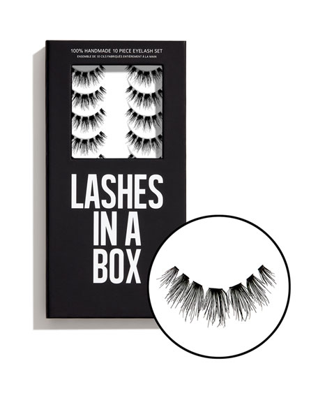 Lashes in a Box No. 23 Lashes, 10 Pairs