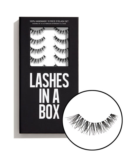 Lashes in a Box No. 22 Lashes, 10 Pairs