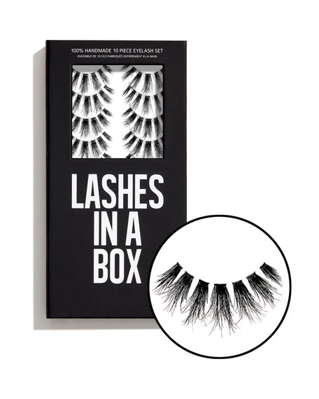 Lashes in a Box No. 31 Lashes, 10 Pairs