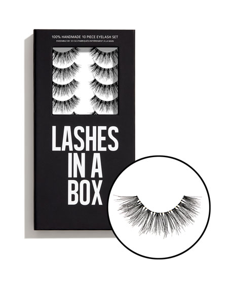 Lashes in a Box No. 32 Lashes, 10 Pairs