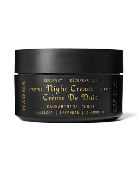 Haoma 1.6 oz. Recovery Night Cream with CBD & Turmeric