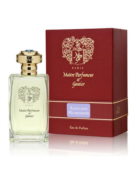 Maitre Parfumeur et Gantier Sanguine Muskissime Eau de Parfum, 4 oz./ 120 mL
