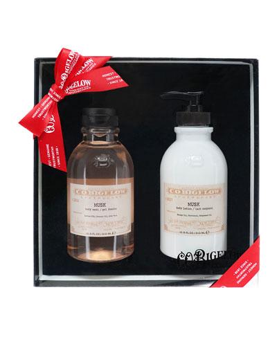 Iconic Collection Body Wash & Body Lotion Set, Bergamot