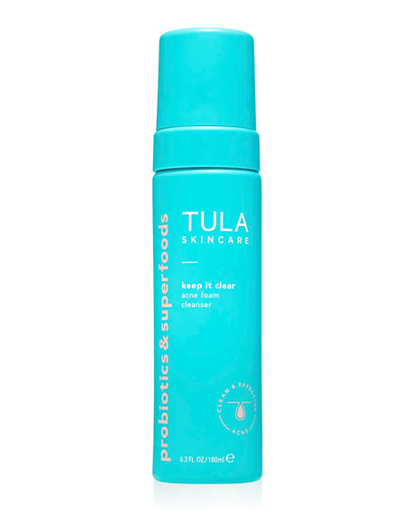 TULA 6.3 oz. Keep It Clear Acne Foam Cleanser