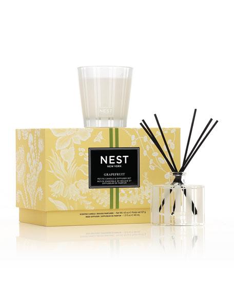 Nest Fragrances Grapefruit Petite Candle & Diffuser Set