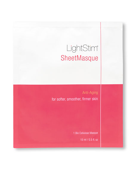 LightStim Anti-Aging SheetMasque, 6 Piece