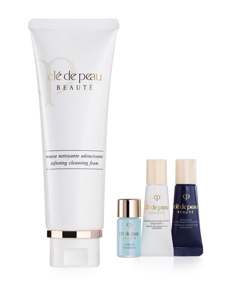Cle de Peau Beaute Cleanse & Hydrate Collection Limited Edition ($104 Value)