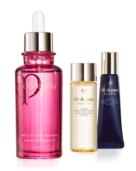 Cle de Peau Beaute Replenish & Restore Oil Collection - Limited Edition ($206 Value)