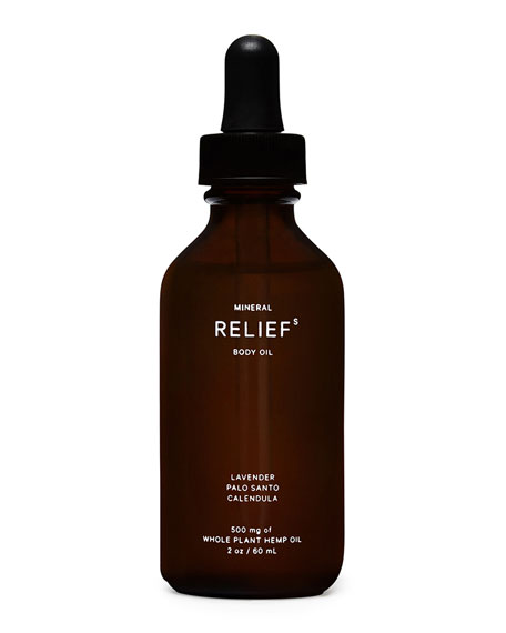 Mineral 2 oz. Relief Body Oil