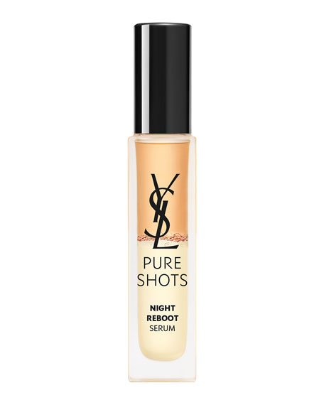 Yves Saint Laurent Beaute Pure Shots Night Reboot Serum, 0.67 oz./ 20 mL