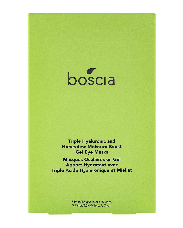 Triple Hyaluronic and Honeydew Moisture-Boost Gel Eye Masks