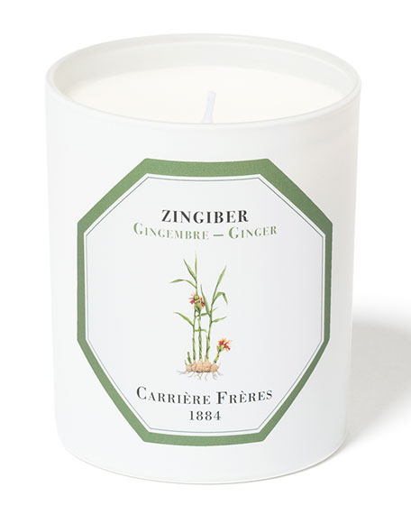 Carriere Freres 6.5 oz. Ginger Candle