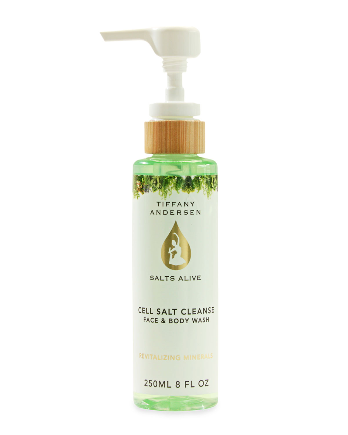 8 oz. Cell Salt Cleanse Face & Body Wash