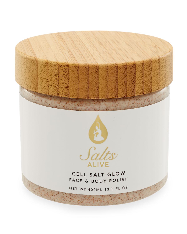 13.5 oz. Cell Salt Glow Scrub