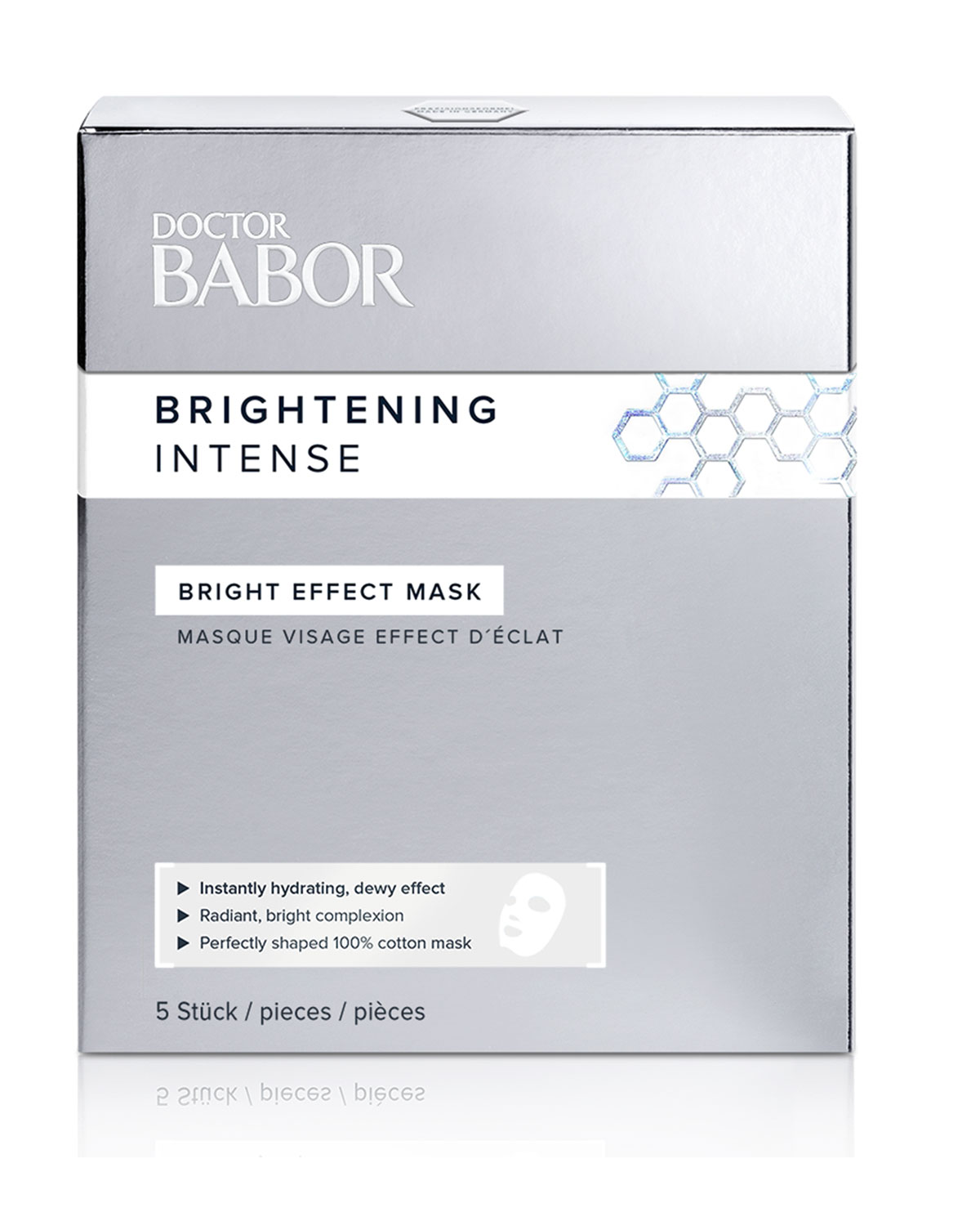 Babor BRIGHTENING INTENSE BRIGHT EFFECT MASK, 5 COUNT