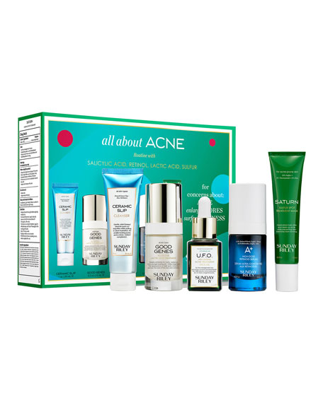 Sunday Riley Modern Skincare All About Acne Kit