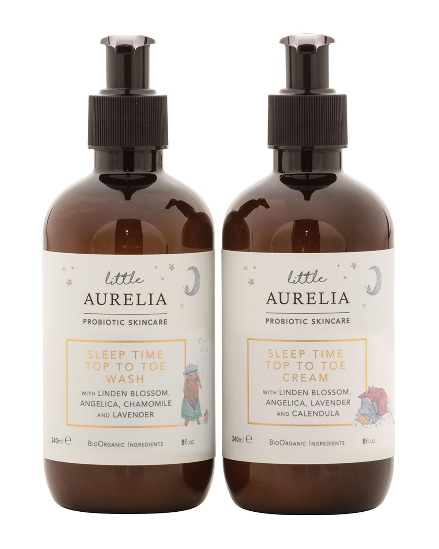 Little Aurelia Toe to Toe Wash and Cream Duo