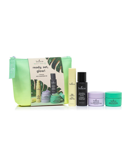 boscia Ready, Set, Glow Mini Essentials Kit