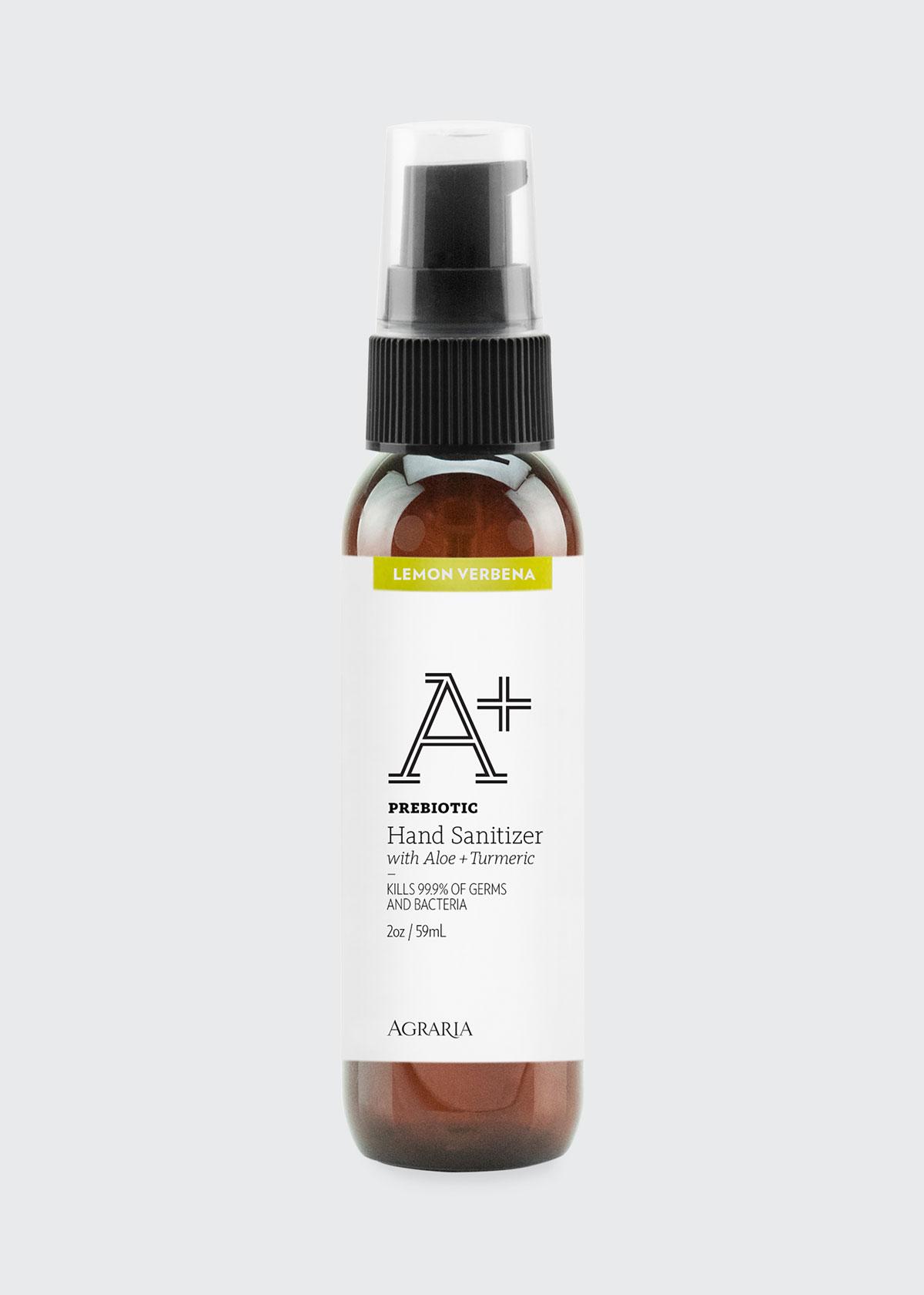 Lemon Verbena A+ Prebiotic Hand Sanitizer, 2 oz./ 60 mL