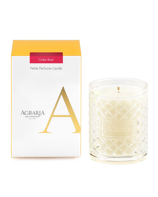 3.4 oz. Cedar Rose Petite Perfume Candle