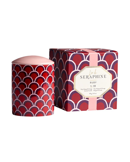 L'or de Seraphine 6.4 oz. Ruby Medium Candle