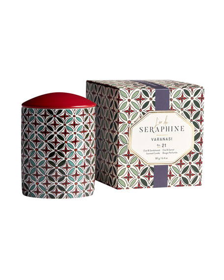 L'or de Seraphine 6.4 oz. Veranasi Medium Candle