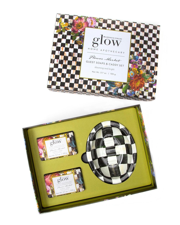 Flower Market Bar Soap & Dish Set
