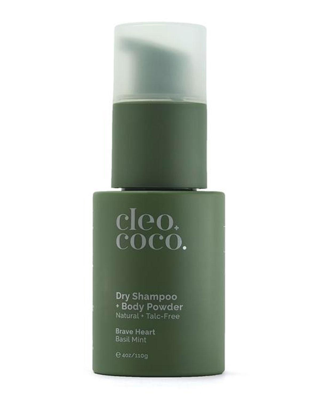 4 oz. Brave Heart Basil Mint Dry Shampoo + Body Powder