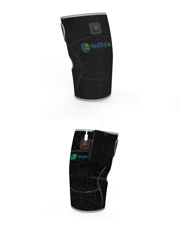 Portable Heated Gemstone Knee Pad InfraMat Pro