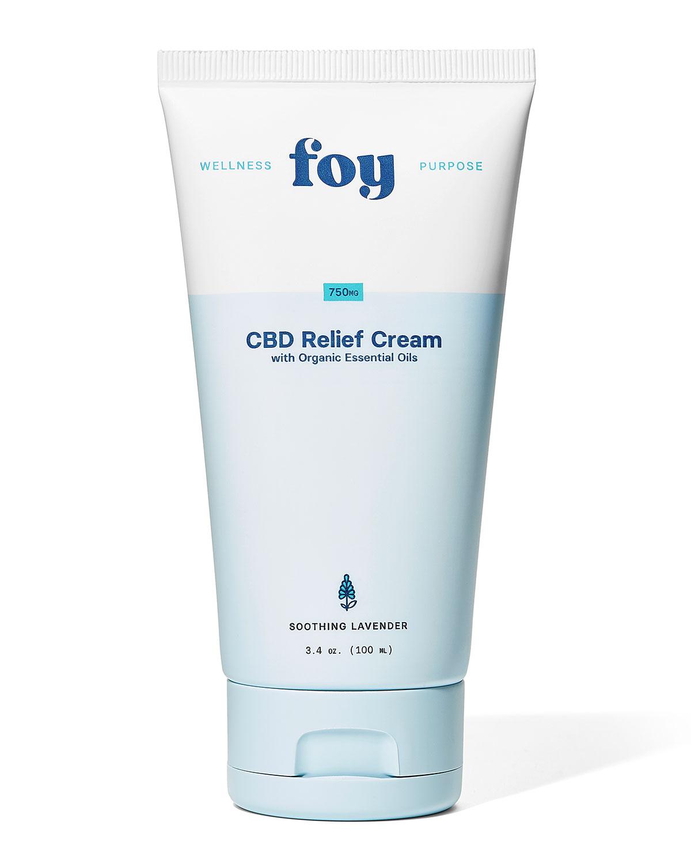 3.4 oz. CBD Relief Cream with Essential Oils
