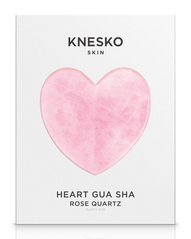 Rose Quartz Heart Gua Sha ($80 Value)