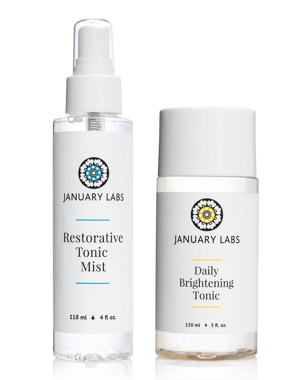 Restorative Tonic Mist & Daily Brightening Tonic Duo