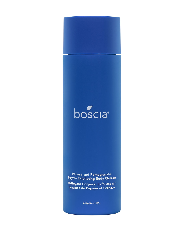 Boscia 8.4 OZ. PAPAYA AND POMEGRANATE ENZYME EXFOLIATING BODY CLEANSER