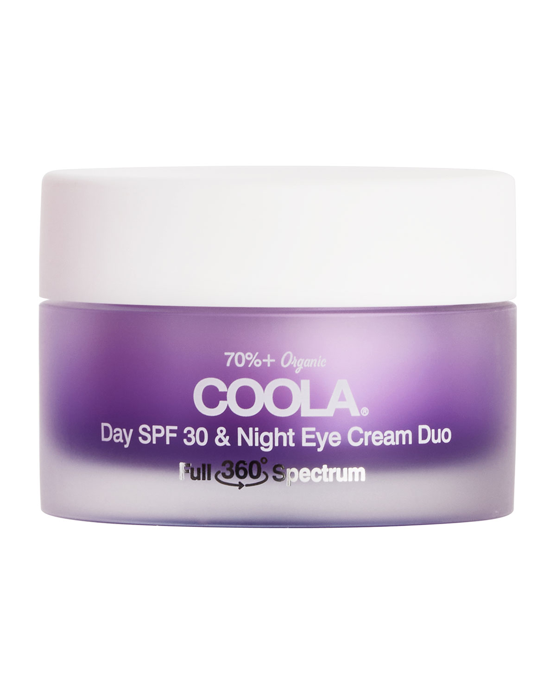 Coola FULL SPECTRUM 360 DAY SPF 30 & NIGHT ORGANIC EYE CREAM DUO