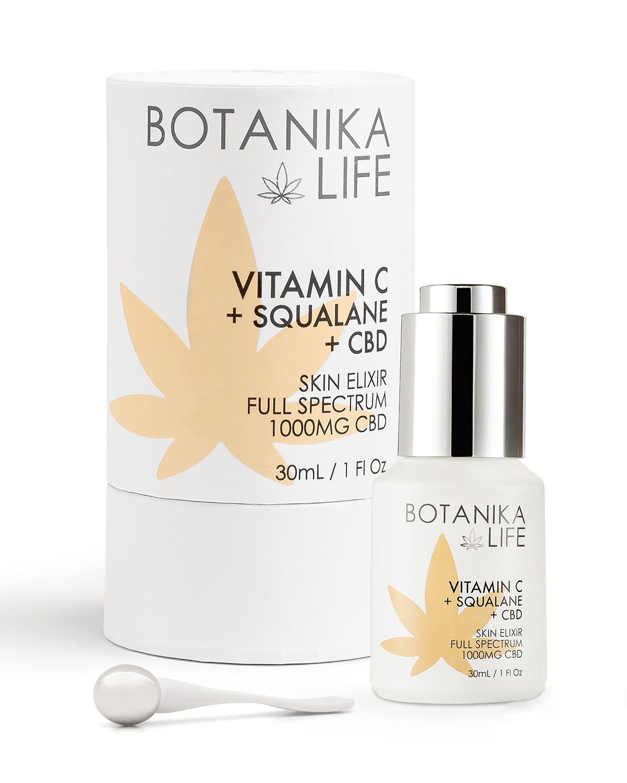 1 oz. Skin Elixir with Vitamin C + Squalane + Full-Spectrum 1000mg CBD