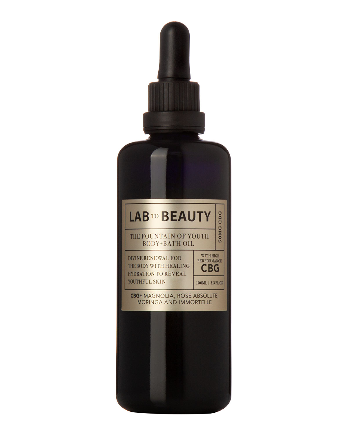 3.3 oz. The Fountain of Youth Body and Bath Oil