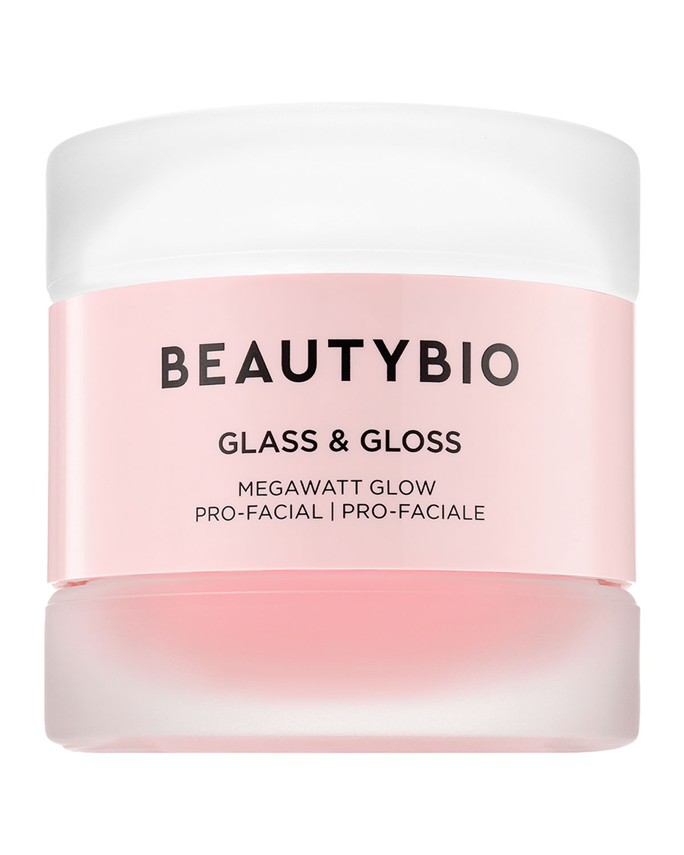 Glass & Gloss Megawatt Glow Pro-Facial 2-Step Retexturizing & Brightening Treatment