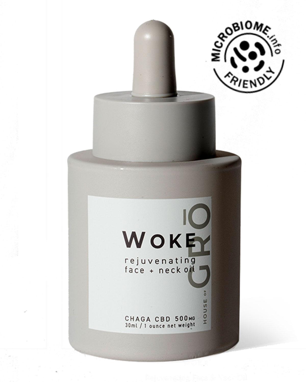 1 oz. Woke Rejuvenating Face + Neck Oil with 500mg CBD