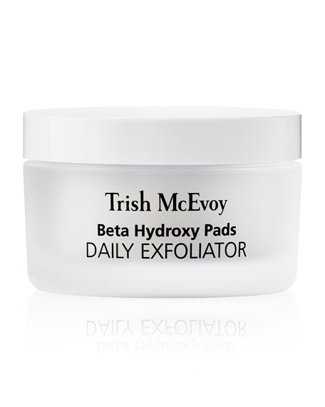 Trish McEvoy Correct and Brighten Beta Hydroxy Pads Daily Exfoliator, 40 Pads