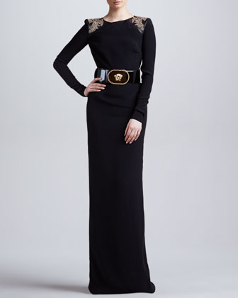 Patent Leather Belt, Black