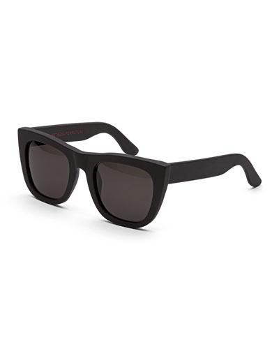 Gals Thick-Frame Sunglasses, Black