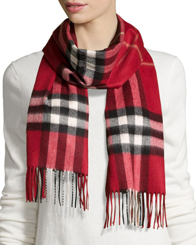 8b3ac5c94e1b Quick Look. Burberry · Giant-Check Cashmere Scarf