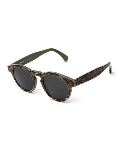 Leonard Marbled Sunglasses, Savana