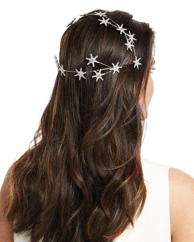 Celestial Swarovski® Crystal Coronet Headband