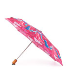 High-Heels-Print Umbrella, Rouge